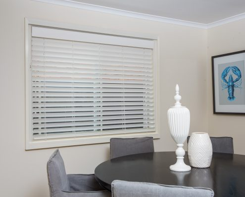 Image of room with pvc venetian blinds | PVC Venetian Blinds Featured Image