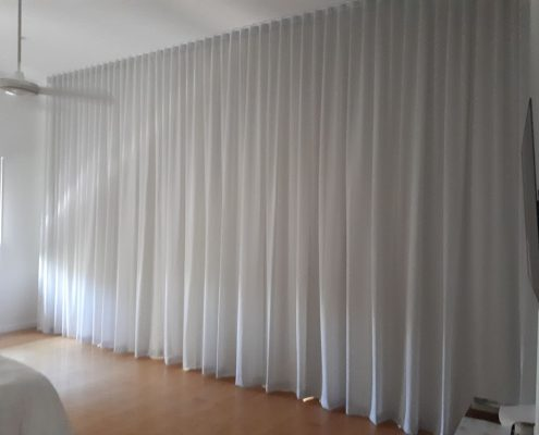 White curtains | Ublinds