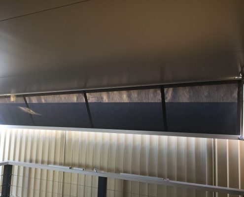 side channel roll up awnings | Ublinds