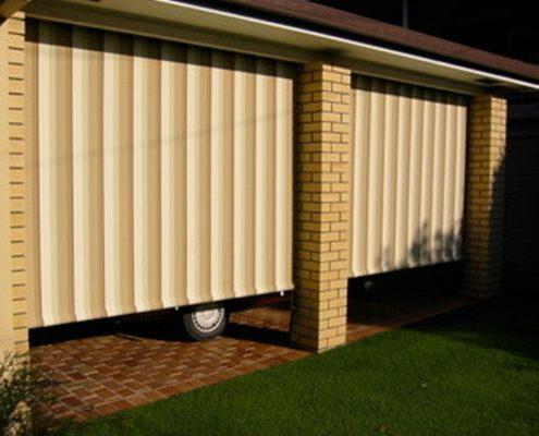 stripes straight drop awnings | Ublinds