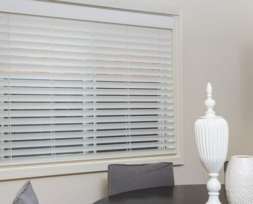 White Venetian Blinds   Featured Image for Different Types of Venetian Blinds Blog