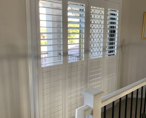 White Bifold Shutters | Featured image for Gallery Showcase landing page