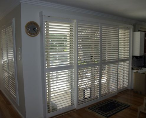 White Sliding Shutters | Featured image for Gallery Showcase landing page