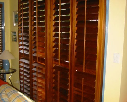 Timber Venetian Sliding Shutter Blinds | Featured image for Gallery Showcase landing page